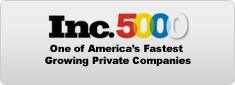 Inc 5000 - One of America's Fastest Growing Private Companies
