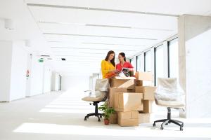 downsizing office